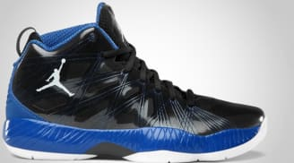 Air Jordan 2012 Lite Black/Game Royal-Light Graphite-White