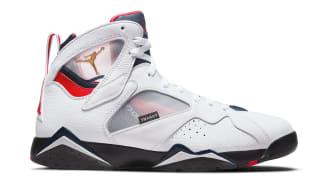 PSG x Air Jordan 7 Retro White/College Navy-Sport Royal-University Red