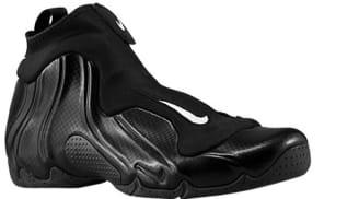 5170b23cd38d74 Nike Air Flightposite 2014 Black Metallic Silver-Black