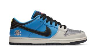 Instant Skateboards x Nike SB Dunk Low Blue Hero/Pale Ivory/Black