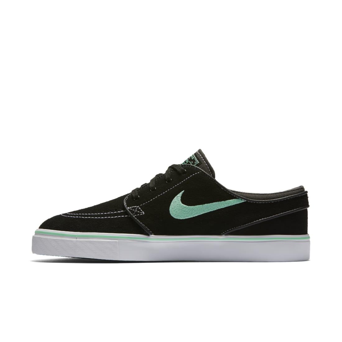 Nike SB Stefan Janoski Black Green Glow