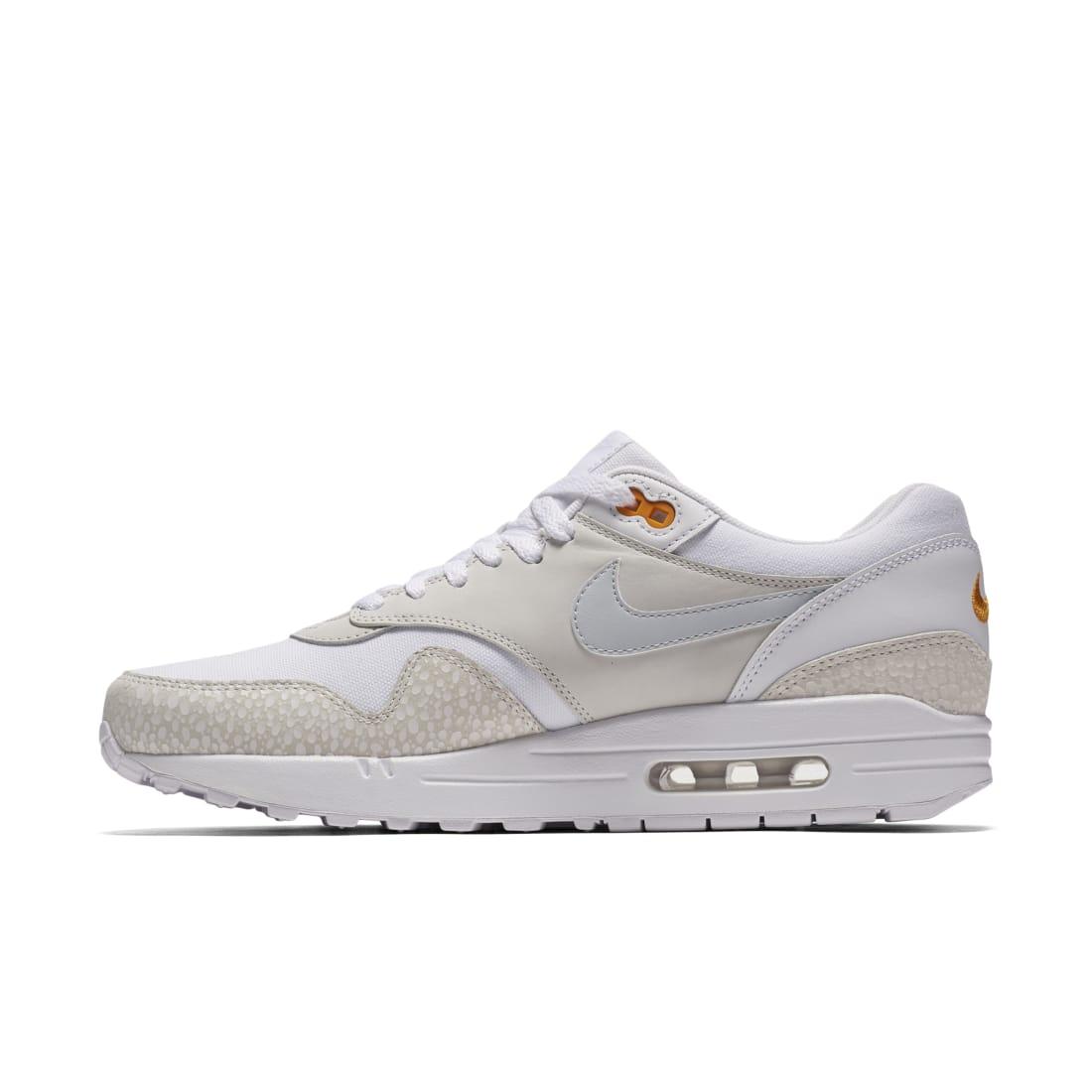 Nike Air Max 1 White Kumquat