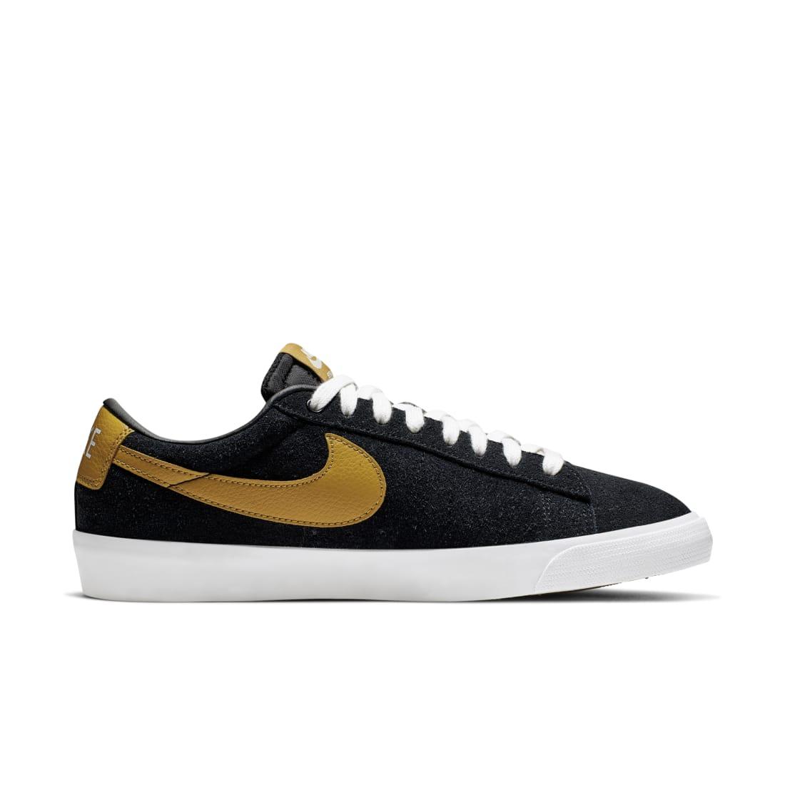 Nike SB Blazer Low GT Black Wheat White