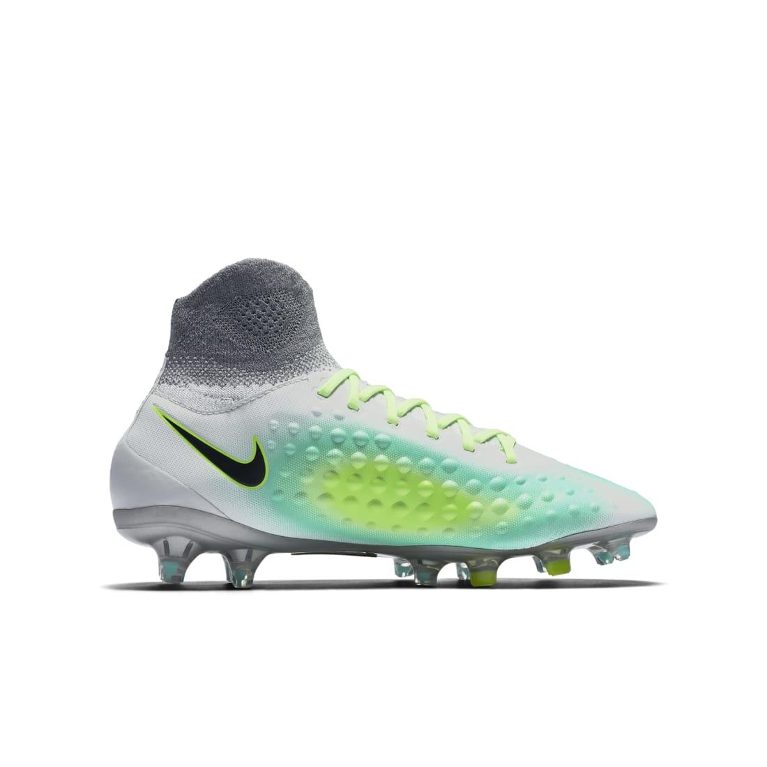 Nike Magista Obra 2 FG Pure Platinum Green