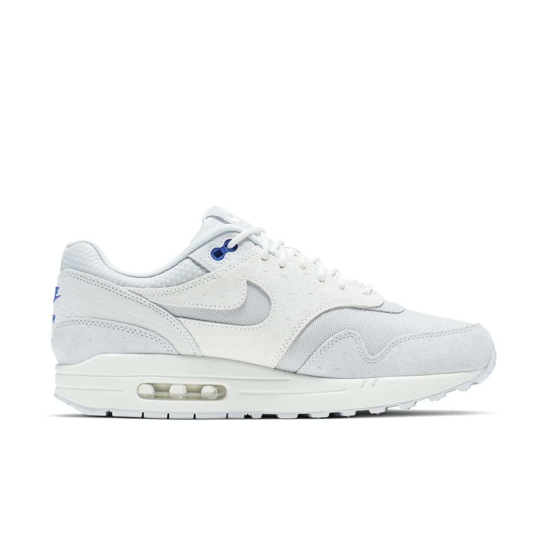 Nike Air Max 1 Pure Platinum Racer Blue | Nike | Sole Collector