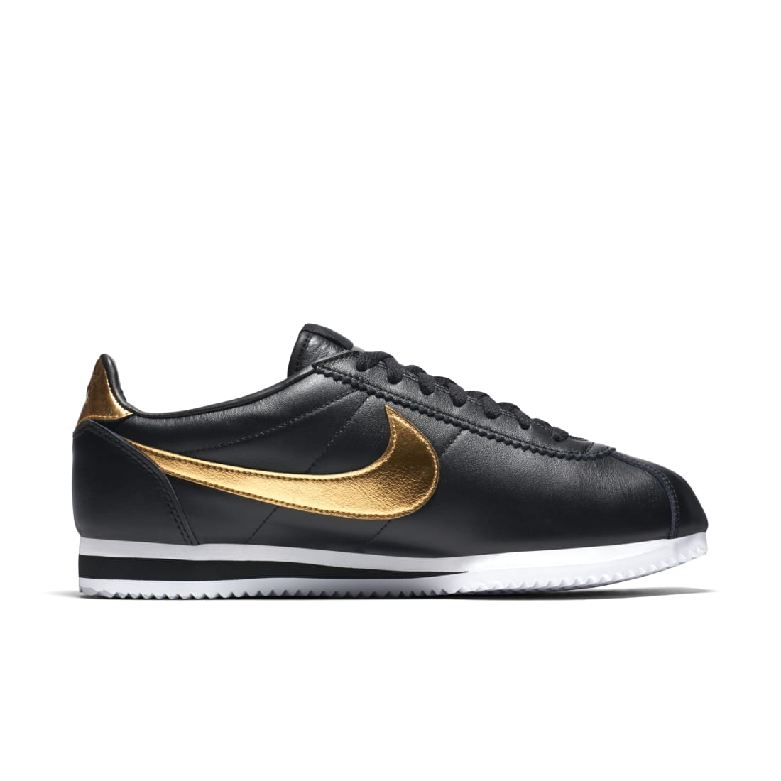 Nike Cortez Black Metallic Gold | Nike