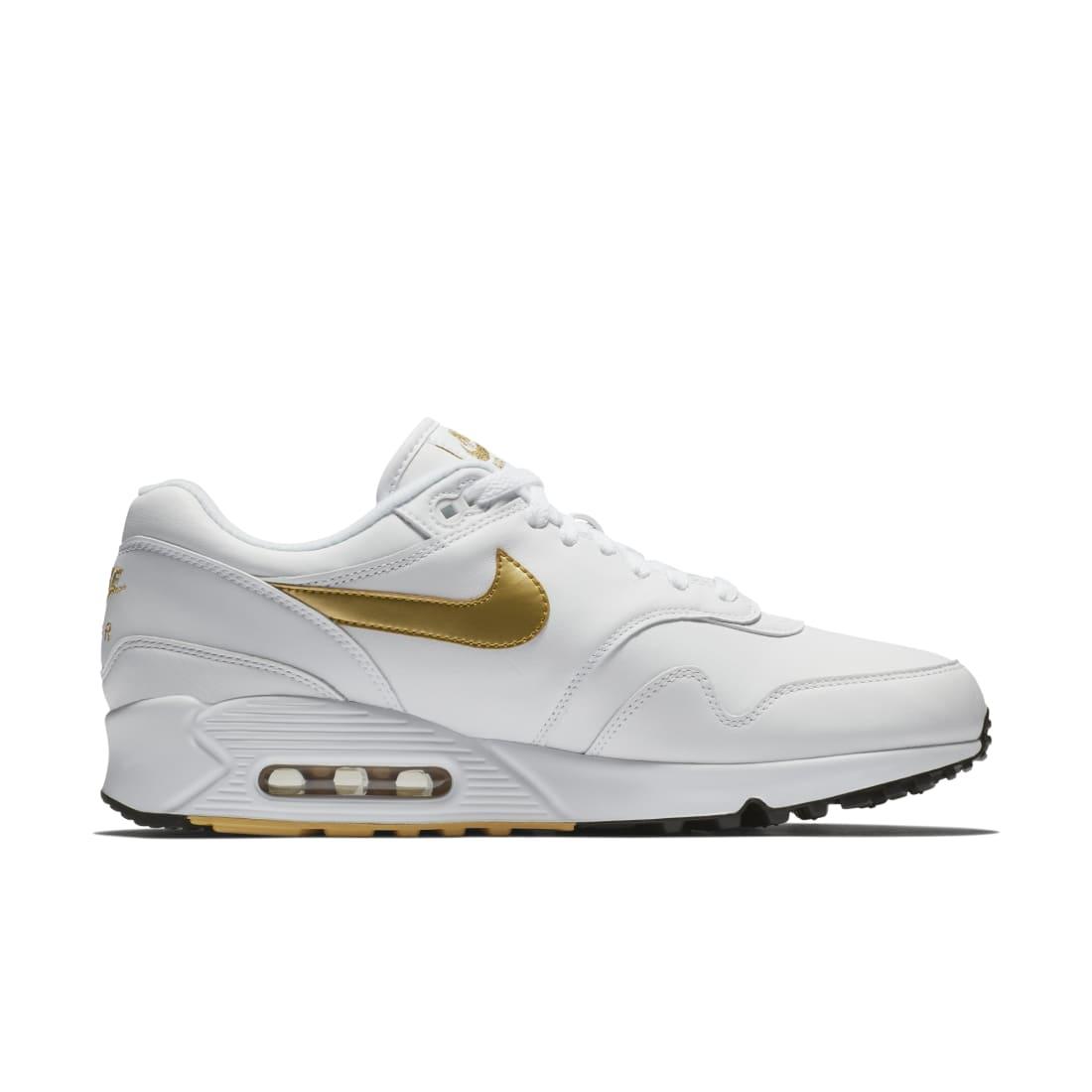 Nike Air Max 90/1 White Gold   Nike
