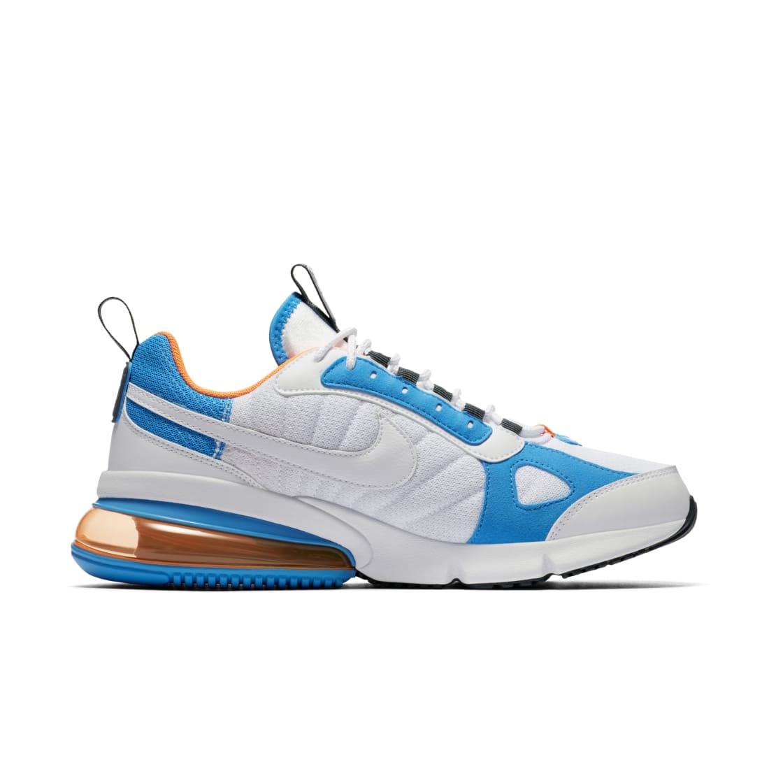 Nike Air Max 270 Futura White Total Orange Blue Heron Nike