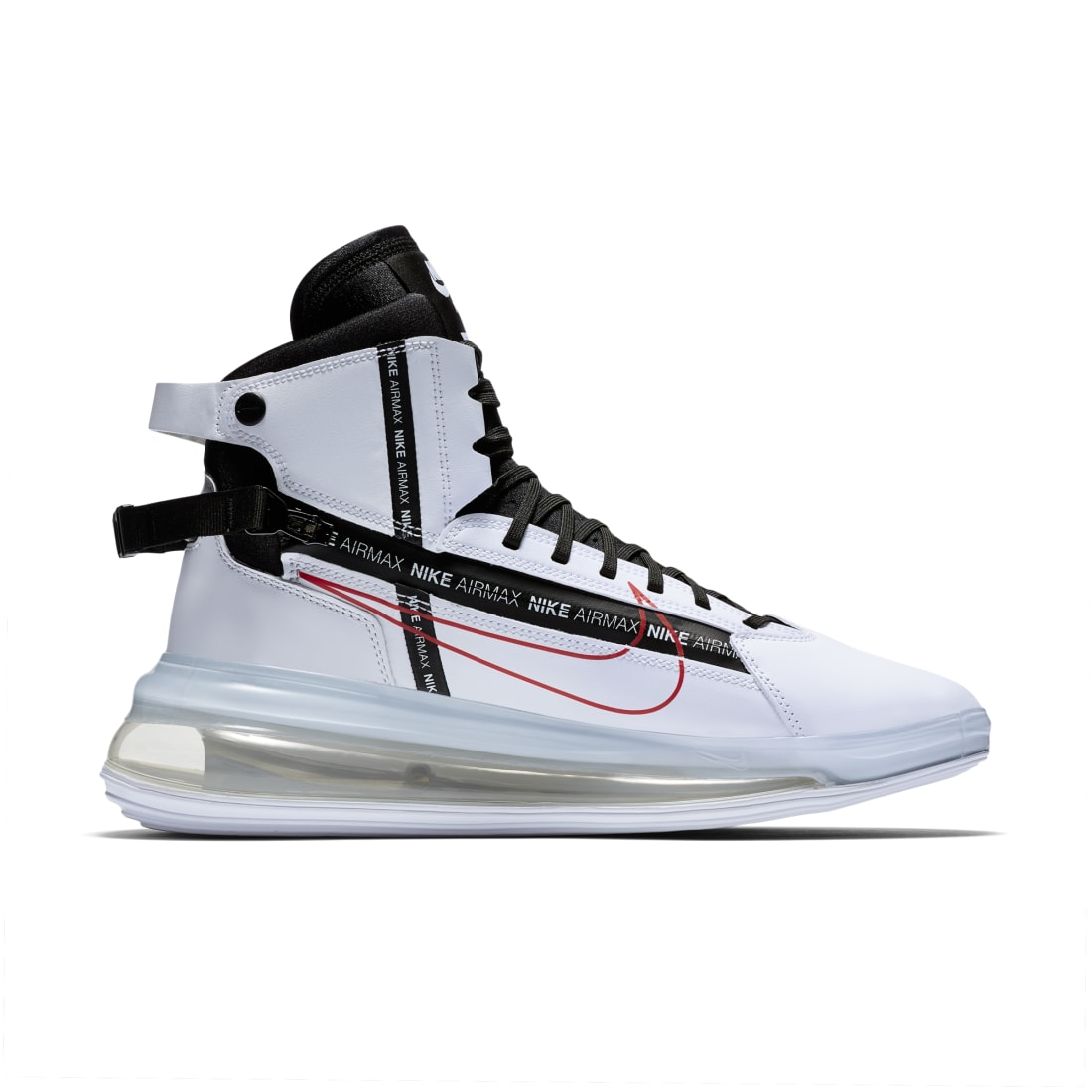 Nike Air Max 720 Saturn White Black Red