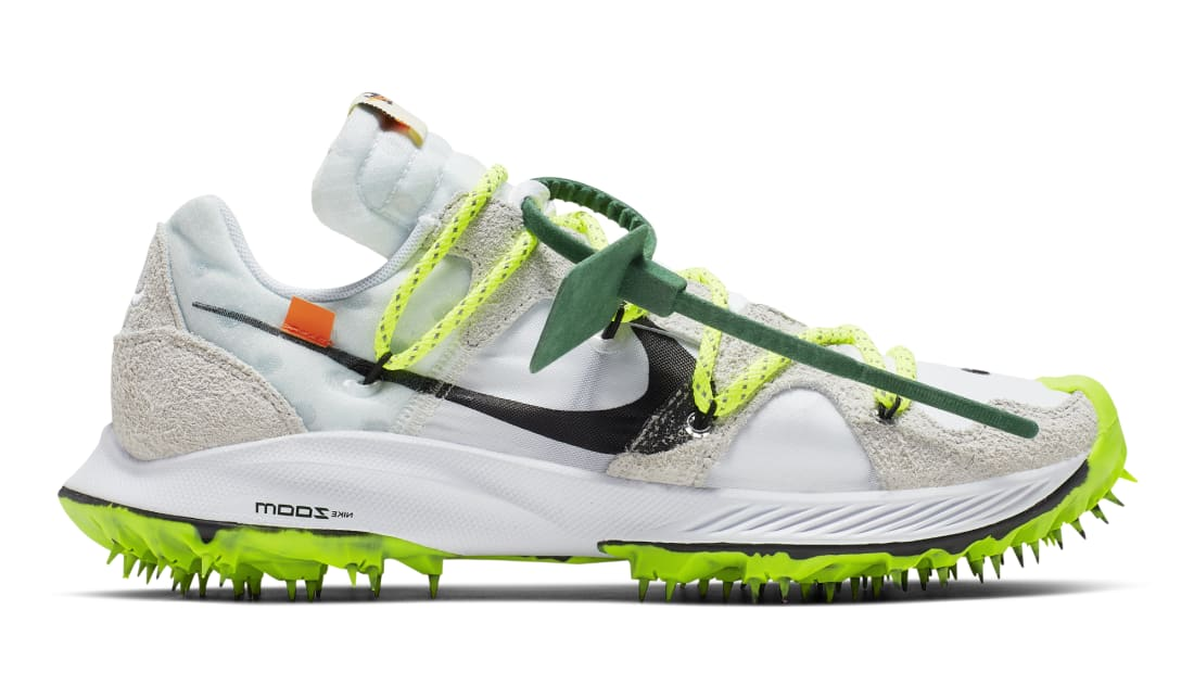 busca lo mejor tienda de liquidación seleccione para mejor Off-White x Nike Zoom Terra Kiger 5 Women's White/Metallic  Silver-Sail-Safety Orange | Nike | Sole Collector