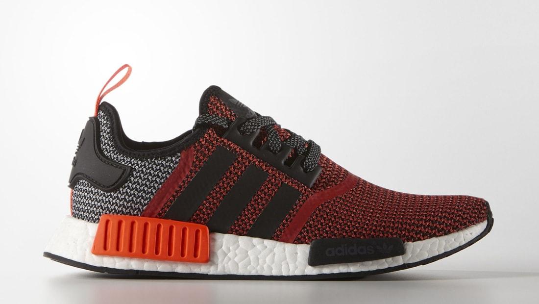 adidas nmd r1 original boost runner lush red