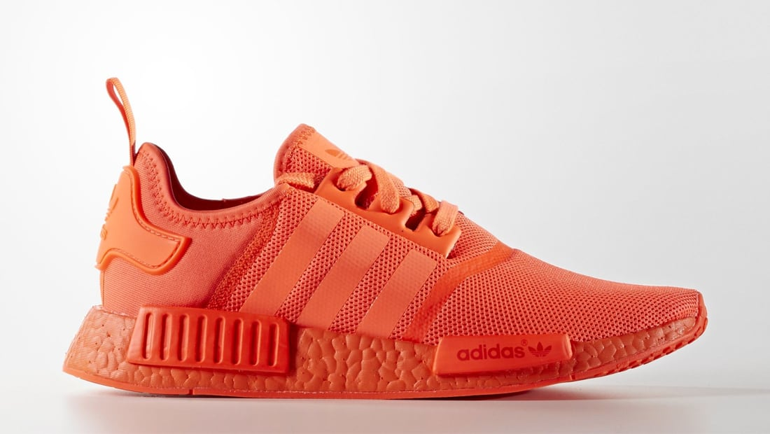 Adidas NMD Solar Red & Triple Black Coming September 17