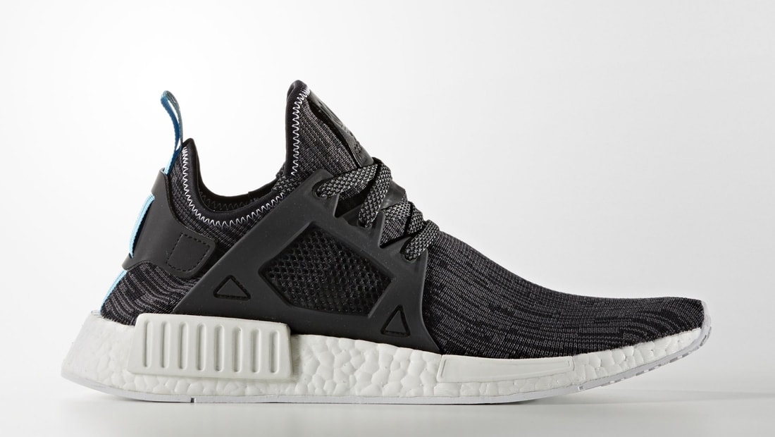 adidas nmd_xr1 core black footwear white red blue