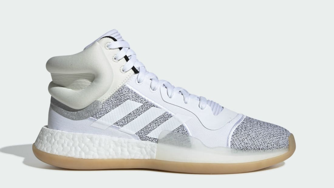 Adidas Marquee Boost Mid Raw White/Cloud White/Off White