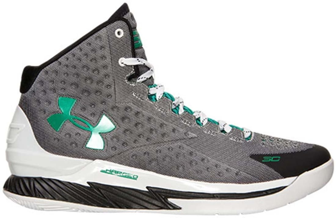 Under Armour Curry One White/Black-Persian