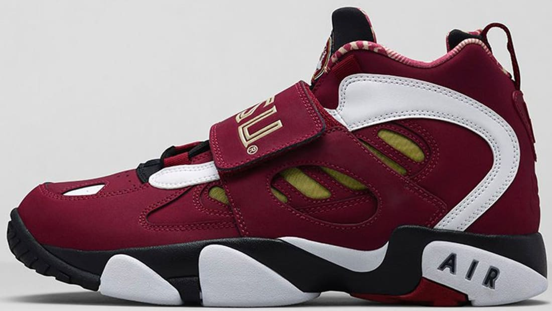 Nike Air Diamond Turf II Premium Team Maroon/Team Gold-Black-White