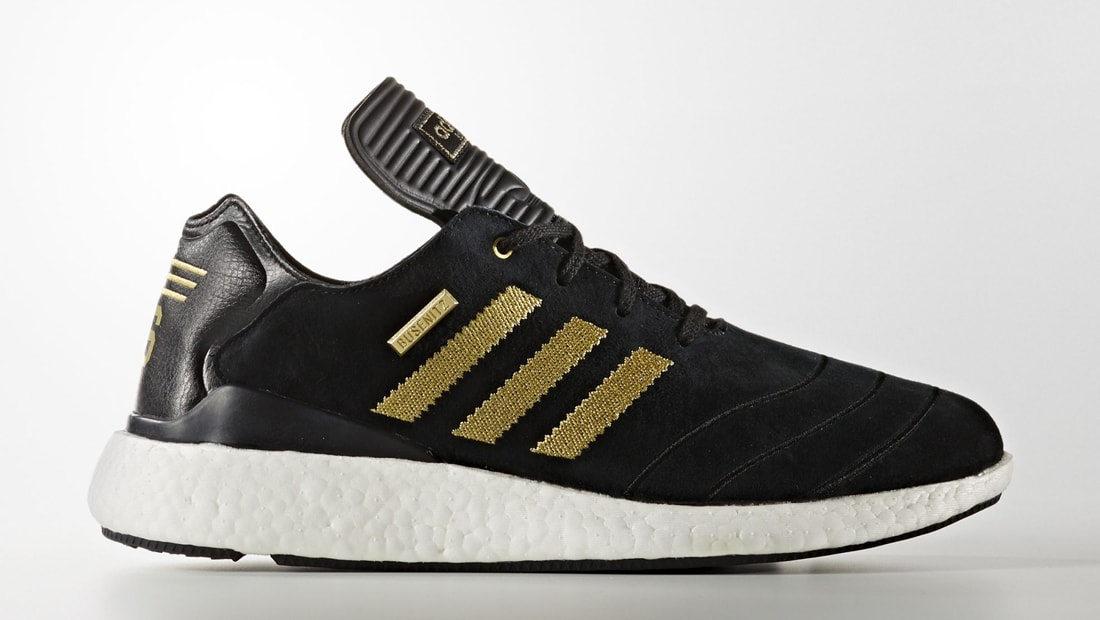 adidas Skateboarding Busenitz Pure Boost 10 Years Anniversary core blackgold metallicftwr white
