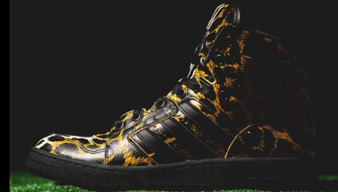 48d90696c82e Adidas · adidas Originals by Jeremy Scott · adidas JS Instinct. adidas JS  Instinct Hi Black Orange