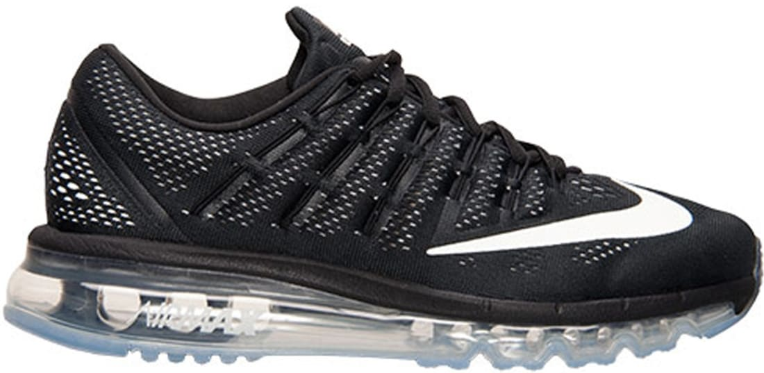 Women's Nike Air Max 2016 Black/White