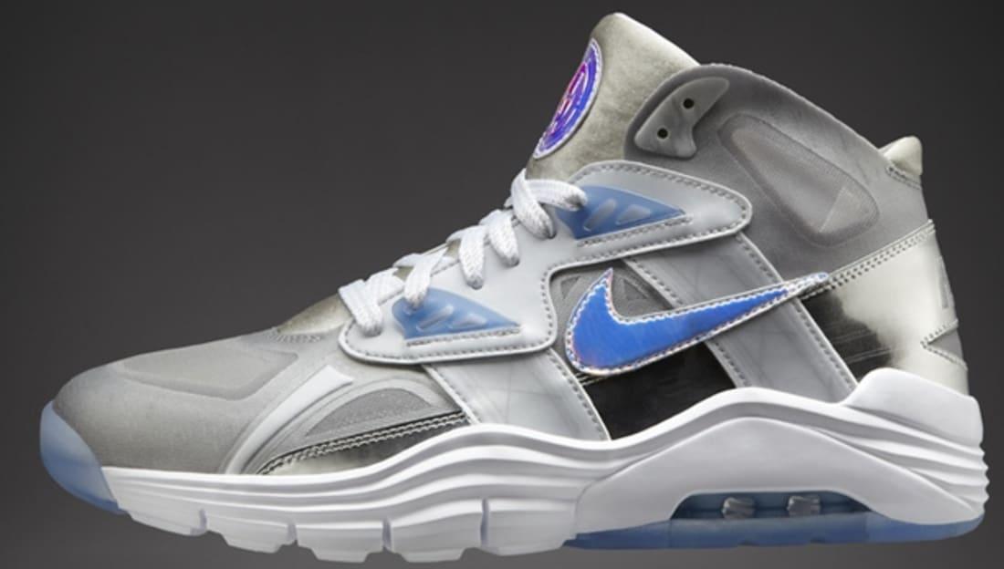 Nike Lunar 180 Trainer SC Premium QS Metallic Silver/Ice Blue-Metallic Silver
