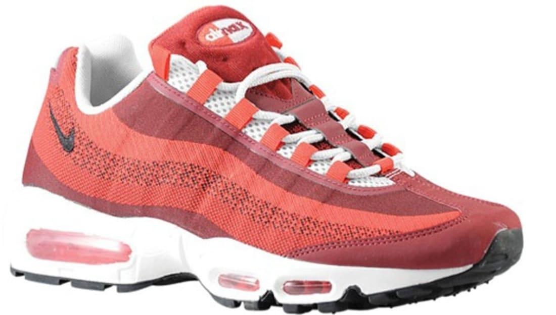 Nike Air Max '95 JCRD University Red/Team Red-Light Crimson-Wolf ...
