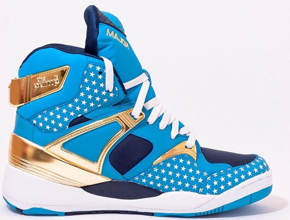 Reebok The Pump Certified California Blue/Matte Gold