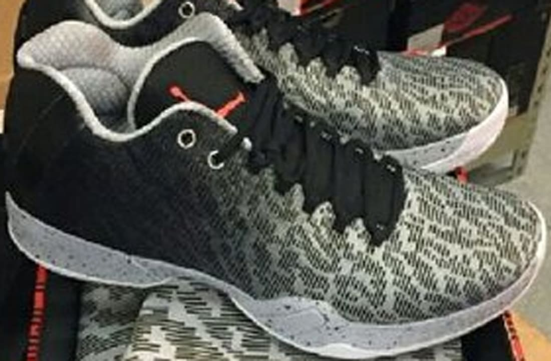 premium selection 83b53 64332 Air Jordan XX9 Low Black Infrared 23-Wolf Grey-White