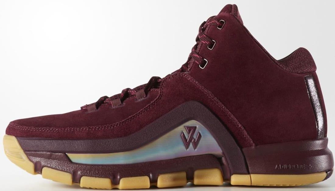 adidas J Wall 2 Maroon