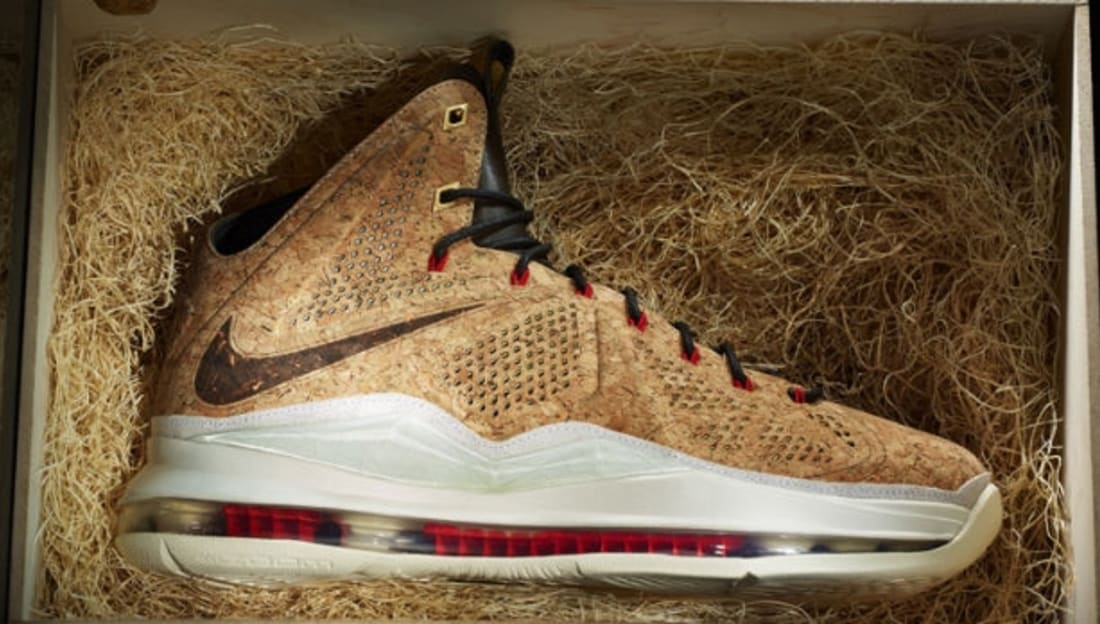 af51253186ff2 Nike LeBron X Ext Cork | Nike | Sole Collector