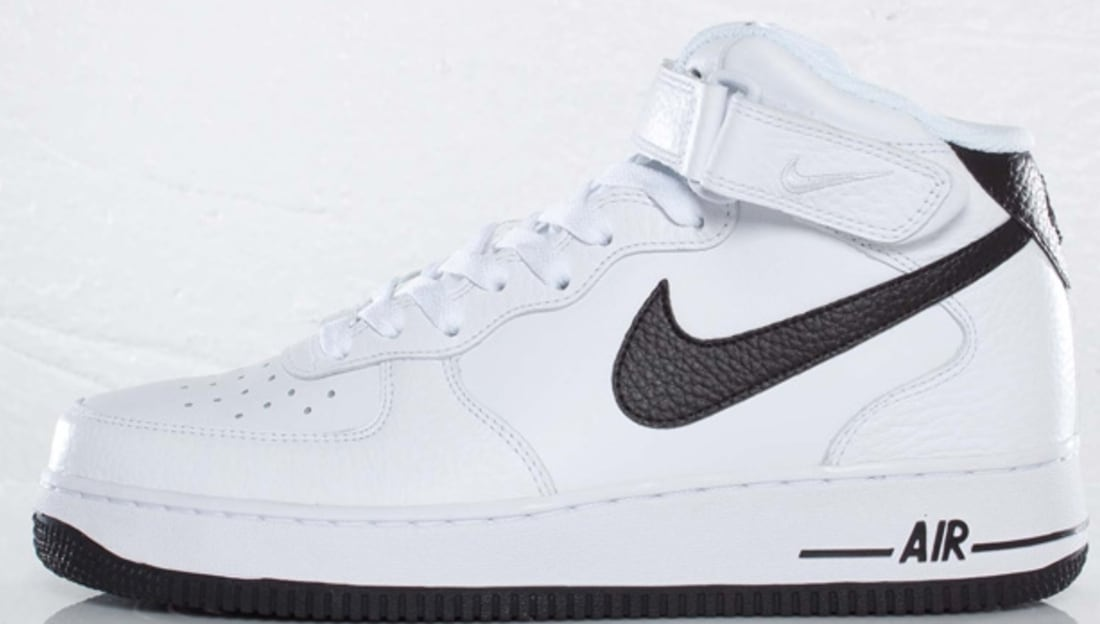 d1f16b88d12ca6 Nike · Nike Air Force 1 · Nike Air Force 1 Mid. Nike Air Force 1 Mid White  Black