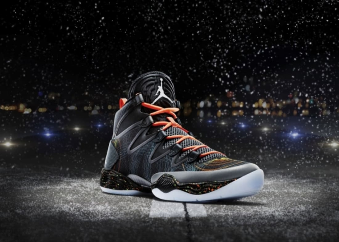 differently c32d5 79e8d Air Jordan XX8 SE Black White-Reflect Silver-Total Orange