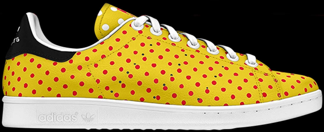 adidas Originals Stan Smith Yellow/Red-White