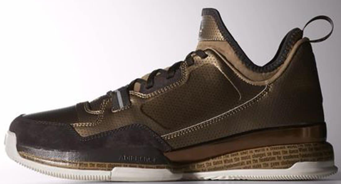 adidas D Lillard 1 Cardboard/Light Brown-Night Brown
