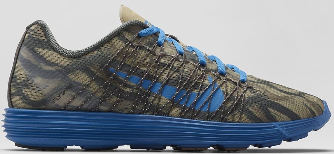 Nike Lunaracer+ 3 Light Charcoal/Bamboo-Dark Mushroom-Military Blue
