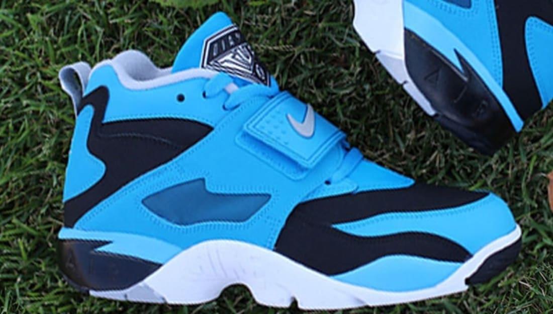 Nike Air Diamond Turf Black/Wolf Grey-Blue Hero