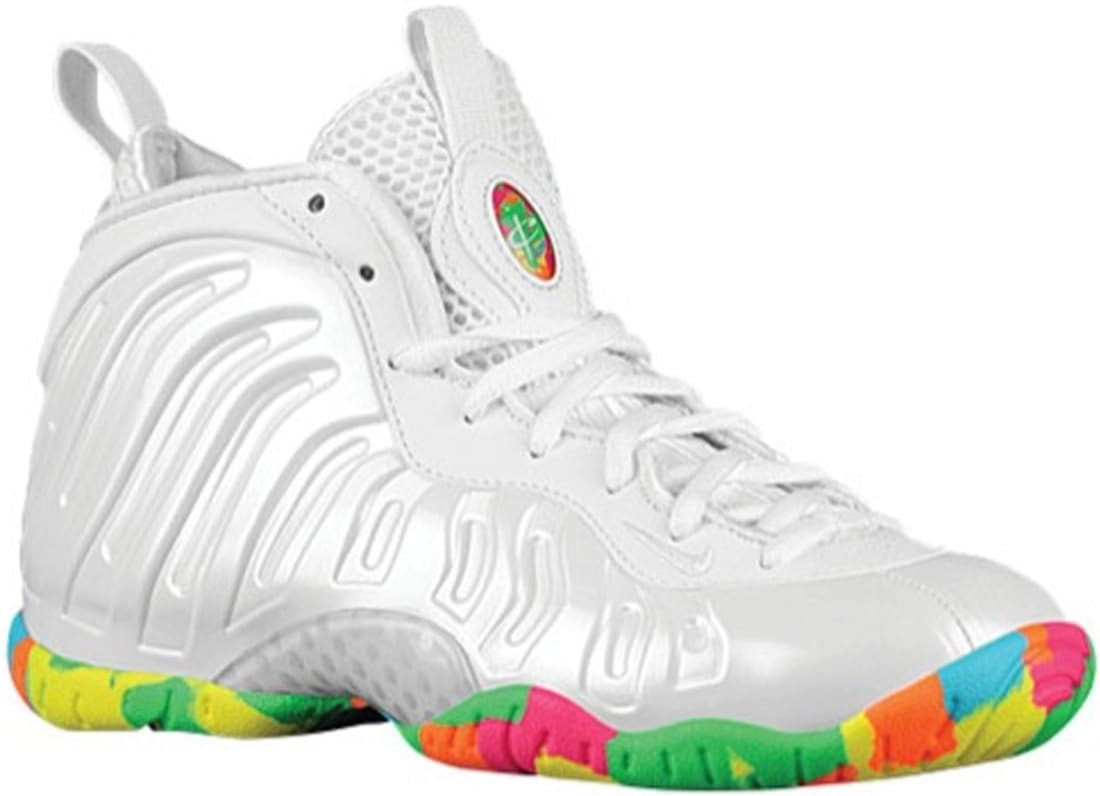 huge selection of ce7b1 b2c70 Nike · Nike Basketball · Nike Air Foamposite One. Nike Little Posite One GS  White Pink Foil-Cascade ...