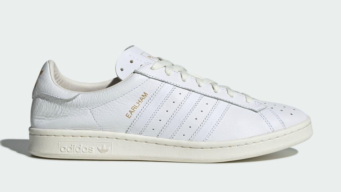 Adidas Earlham SPZL Off White/Core White/Gold Metallic