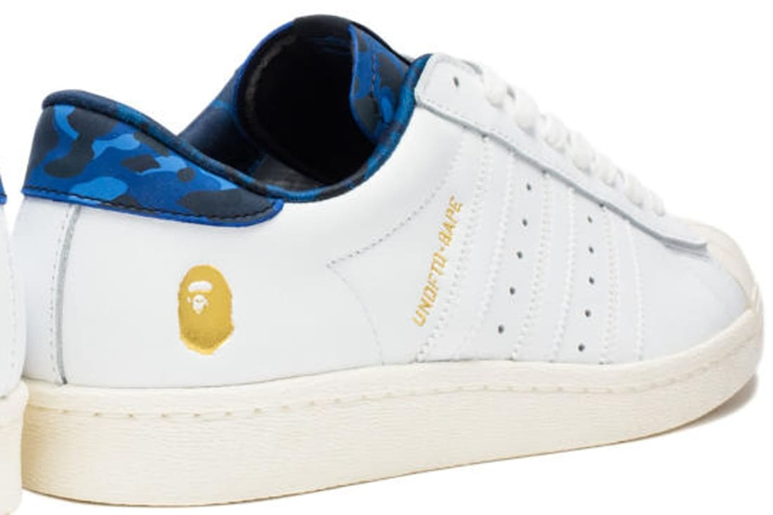 adidas Consortium Superstar 80s White/Gold-Blue Camo