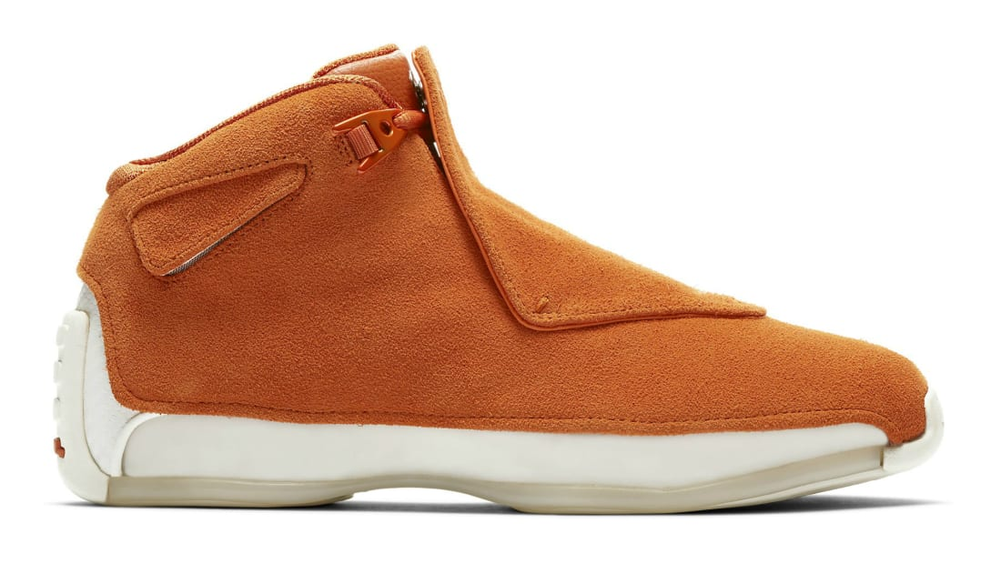 cd6fbc5147ec Air Jordan 18 Retro Campfire Orange Campfire Orange-Sail