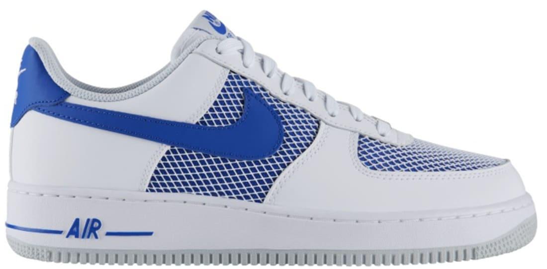 d62e7884c1 Nike Air Force 1 Low White Hyper Cobalt-Pure Platinum