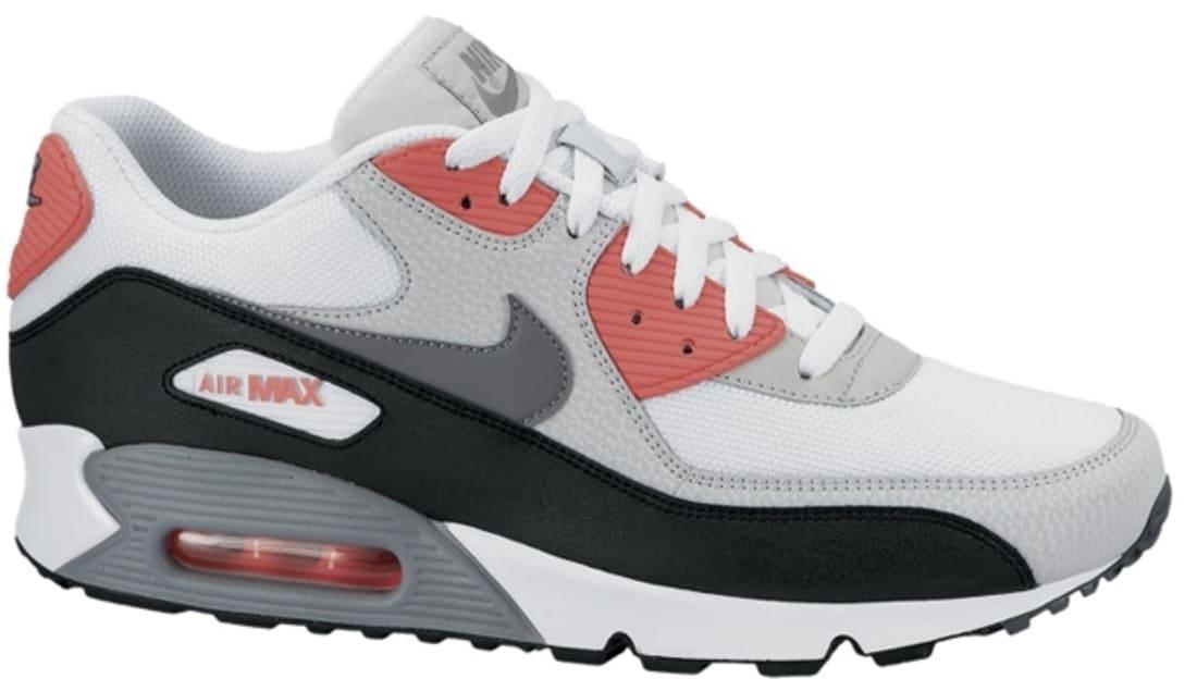 f07726a956 Nike Air Max '90 Essential White/Cool Grey-Neutral Grey-Black | Nike ...