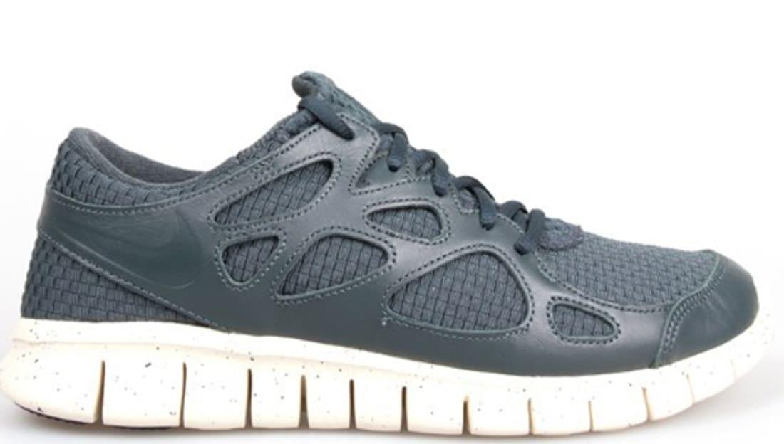 Nike Free Run+ 2 Woven Leather TZ Seaweed/Seaweed-Beach