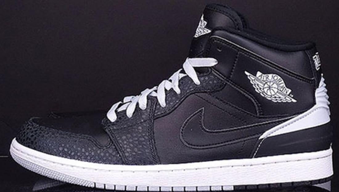 Air Jordan 1 Retro '86 Black/White-Pure Platinum