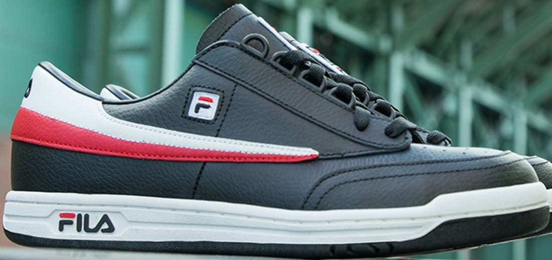 8942641b262a Fila Original Tennis Black White-Fila Red