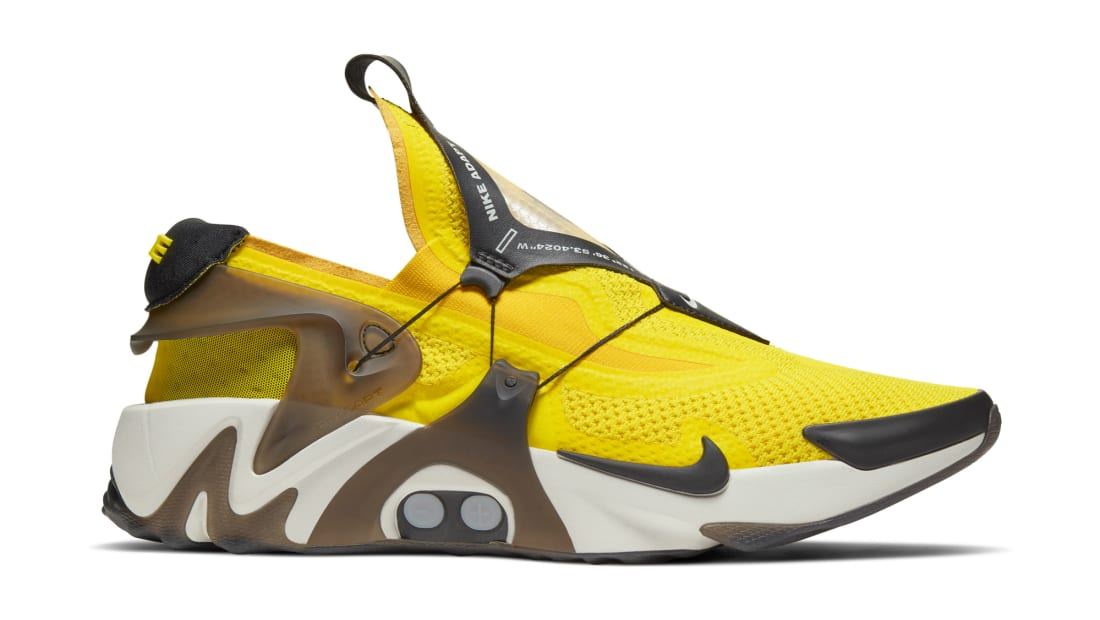 Nike Adapt Huarache Yellow/White-Black
