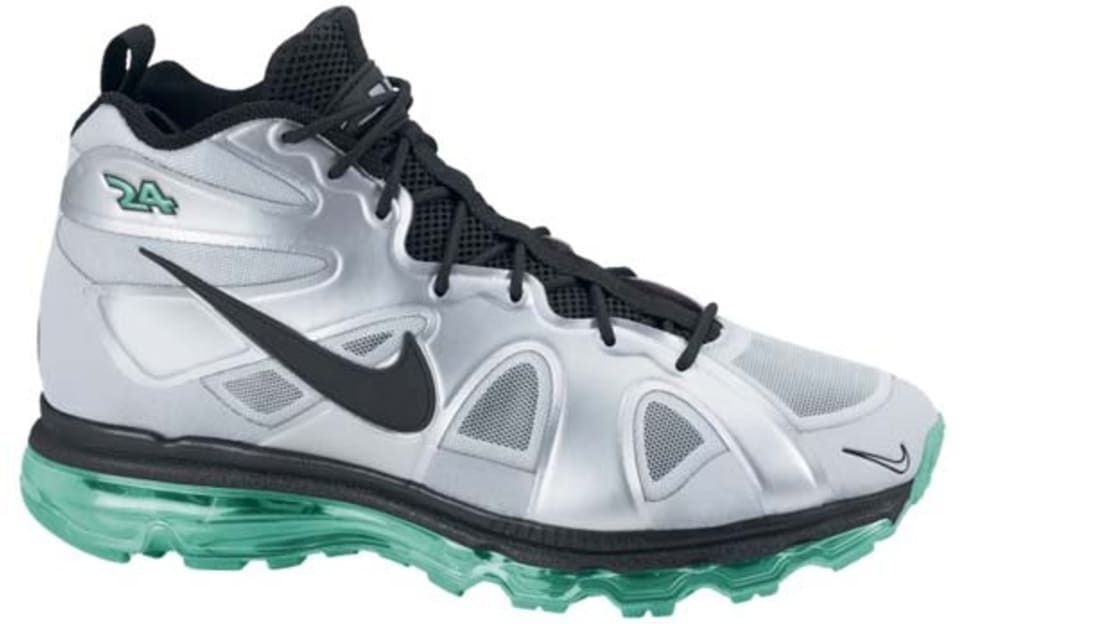 Nike Air Max Griffey Fury Metallic Silver Black-New Green  cd2437316