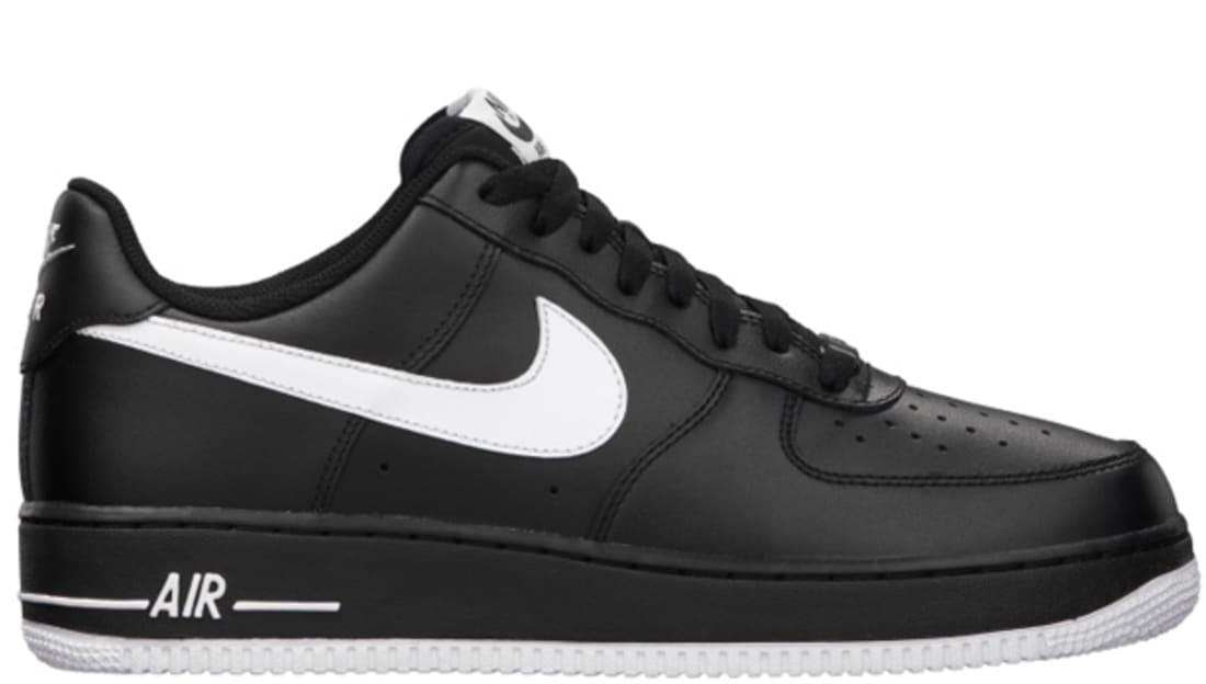 a1f19da416 Nike Air Force 1 Low Black White-Black