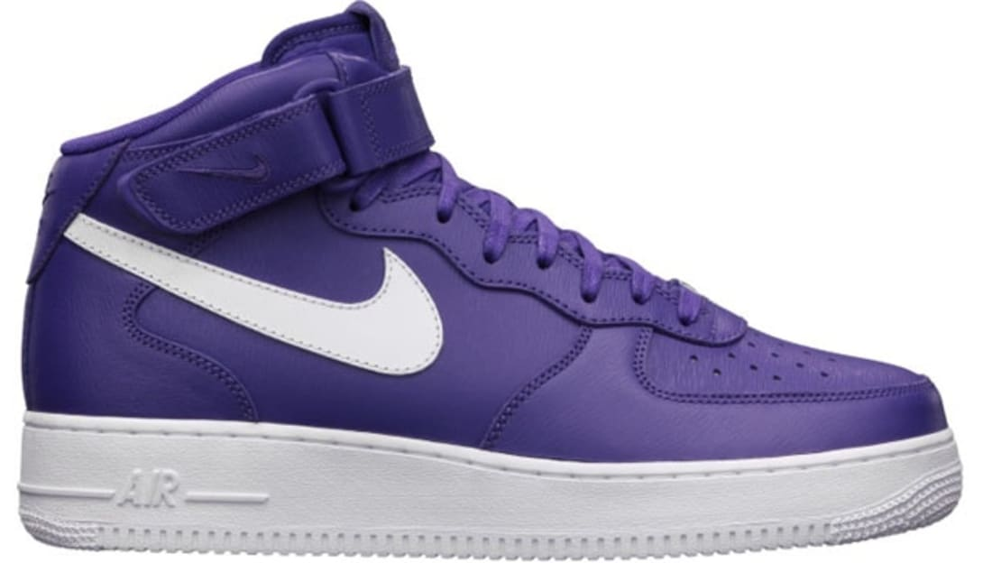 Nike Air Force 1 Mid QS Court Purple/White | Nike | Sole Collector