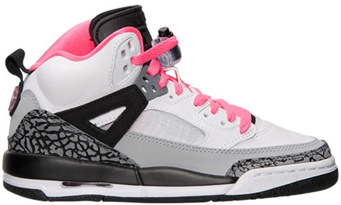 Jordan Spiz'ike GS White/Hyper Pink-Black-Cool Grey