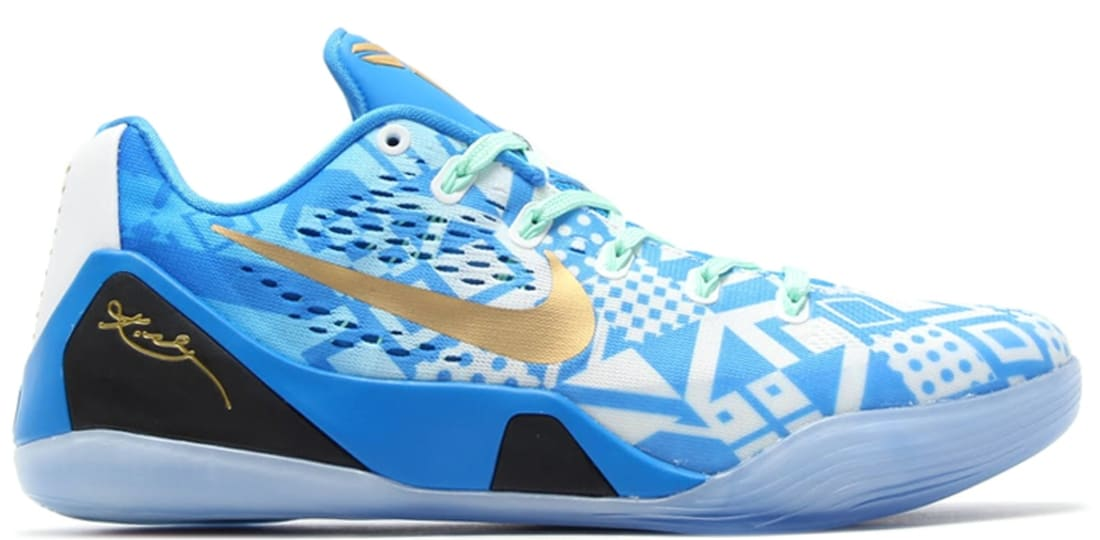 8b39d9cae37b Nike · Nike Kobe · Nike Kobe 9 (IX). Nike Kobe 9 EM Hyper Cobalt White-Photo  Blue-Action Red